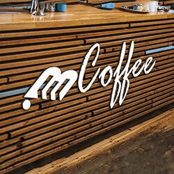 Coffee Bar Logo Mockup