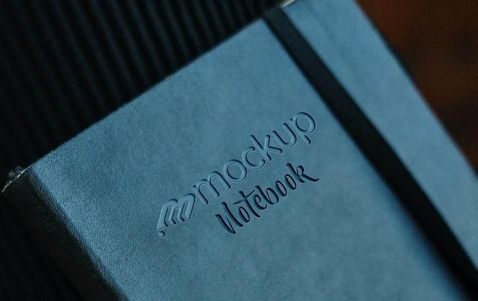 Notebook Logo Mockup