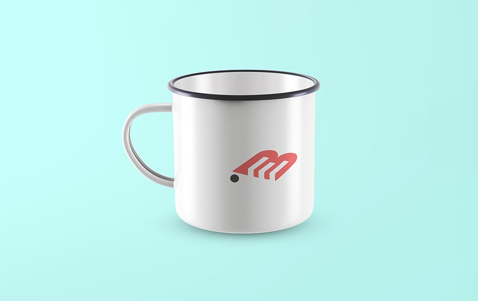 Front View Cup Mockup