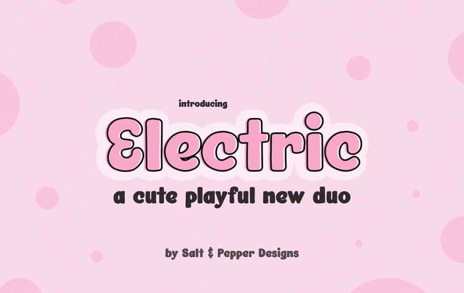 Electric Font Duo